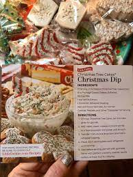 Little debbie copycat recipes to make at home. Christmas Tree Cake Dip Christmas Tree Cake Christmas Cooking Cake Dip