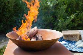 Outdoor Fire Pit Ideas From Horticulturist Melissa King Mindfood Style