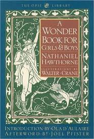 a wonder book for s boys by nathaniel hawthorne
