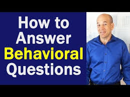 Behaviour Based Questions Best Way To Answer Behavioral Interview Questions Youtube