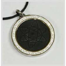 quantum science scalar energy pendant with diomond ring cogent mobile chip