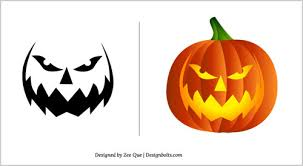 Halloween-2012-Pumpkin-Carving-Patterns-15-Scary-Stencils-