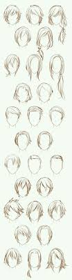 Katerinekosivchenko Hair การวาดเสนผม วาดเขยน และ ภาพสเกต