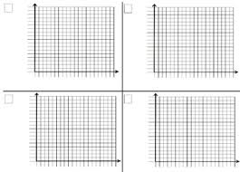 Scatter Plots Graphic Organizer Work Paper Template Iep Accommodation