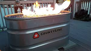glass beads for fire pits beautiful use a stock tank to make a diy outdoor fire
