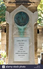 stendhal grave in montmartre paris stock photo royalty stendhal grave in montmartre paris