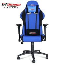 blue office chair gt omega pro racing office chair blue and black fabric blue desk chair