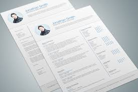 Indesign Resume Template Sevte