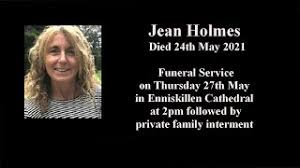 The Funeral of Jean Holmes on 27th May 2021 in Enniskillen ...