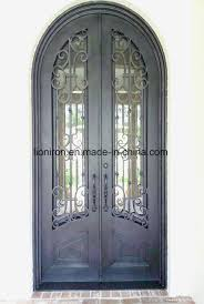 metal security door with iron gates models new design iron screen door