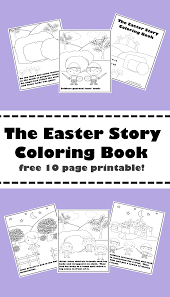 Delight your free time with these fun and free printable easter coloring pages! Religious Easter Coloring Pages Mary Martha Mama