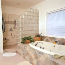 seattle glass block to make the most of the available space in this bathroom the glass