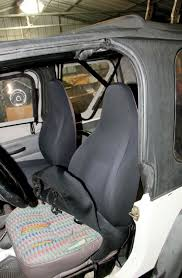 stock jeep tj seats photo 75991638