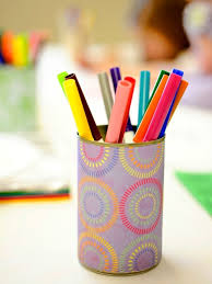 markers in holder