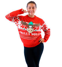 Christmas Vacation Marty Moose Walley World Sweater