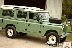 Classic Off-road SUV Land Rover 109 and Tuning of Defender 110 ...