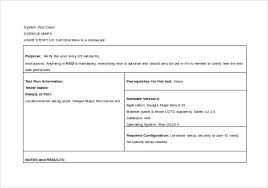 Software Test Case Template 10 Test Case Templates Free Sample Example Format Download