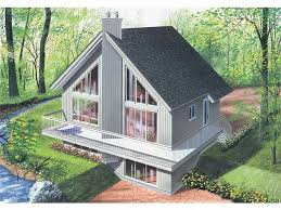 small lake house plans with walkout basement elegant 104 best waterfront house plans images on