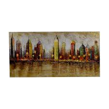 pier 1 imports pier 1 imports cityscape painting dimensions