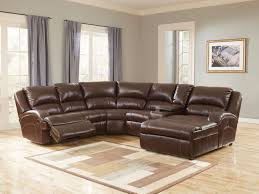 nice Unique Leather Reclining Sectional Sofa 46 For Hme Designing