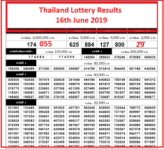 Thai Lottery Result Chart 2018 Download Thai Lottery Results 1st August 2019 1 08 2019
