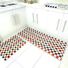red kitchen mat blue green 2 piece sets rubber backing non slip rug and carpets animal