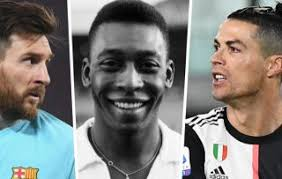 Messi fringe hairstyle young likes it very much. Photo Pele Refuses To Give Up Records To Ronaldo And Messi
