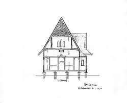 simple architectural sketches. Brilliant Architectural Simple Architectural Drawing Filerobin Dodsu0027 Of St  Andrewu0027s Anglican Inside Sketches H