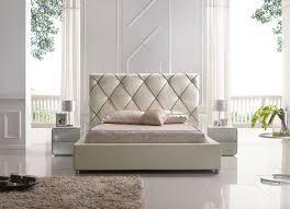 bedroom elegant high quality bedroom furniture brands. Fascinating Italian Design Furniture Brands Outdoor Room Modern At Esf 6200 Beige Leather Bed.jpg Bedroom Elegant High Quality