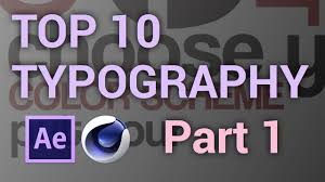 typography templates top 10 free typography video templates 1 after effects cinema