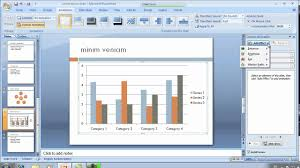 How To Add Animation To Chart In Powerpoint Powerpoint 2007 Animating Text Smart Art And Charts
