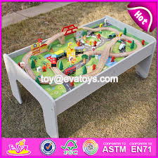 china new design educational kids activity toys wooden train table set w04c070 china train table set wooden train table set