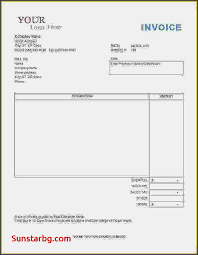 Construction Invoice Template New Unique Invoice Template For Invoice To Go Free Download Invoice