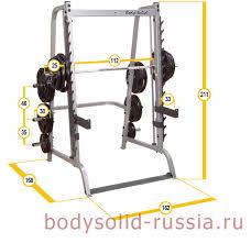 Тренажеры <b>Body</b>-<b>Solid</b> » Машина Смита <b>Body</b>-<b>Solid</b> GS348