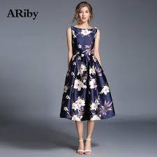 Hot Discount #aff63 - <b>ARiby Women</b> Summer Printed <b>Dress</b> Elegant ...