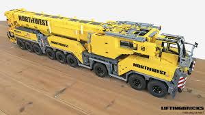 Liebherr Ltm 1750 9 1 Northwest Lego Truck Lego Crane
