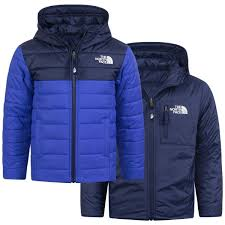 North Face Boys Jacket Size Chart The North Face Boys Blue Reversible Perrito Jacket
