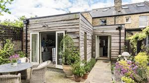 extension ideas timber clad rear extension on a victorian house