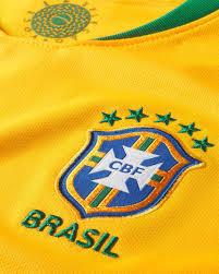 Maglia Calcio Nike Brasile Home World Cup 2018 Jr 893970-749