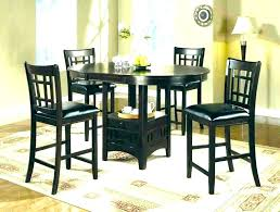 dining table sets pub black glass dining table 6 chairs