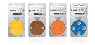 Hearing Aid Battery Sizes Chart Powerone Hearing Aid Battery Specifications