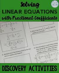 solve linear equations