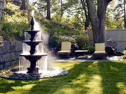 Small Picture 22 ideas for garden fountains as a creative design element in the