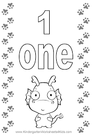 Small Picture 9 Pics Of Number One Coloring Page Number 1 Coloring Page