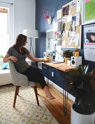 home office style. style girlfriend home office decor homepolish o