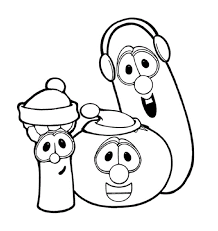 Small Picture veggietales characters coloring pages Coloring Pages Ideas