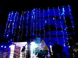 home lighting decoration. House Lighting Decoration Balachandar Wedding Function Home