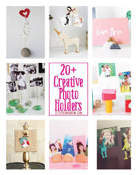 20 creative diy photo holders and picture frame alternatives littleredwindow com