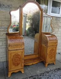 edwardian inlaid satinwood ladies dressing table made for asprey by g  betjemann and sons in 1910