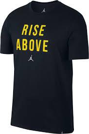 jordan clothing. product image · jordan men\u0027s rise above graphic t-shirt clothing